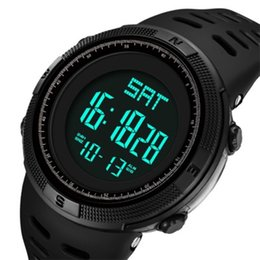 Mens digital relógios táticos de alta qualidade Relogio masculino de