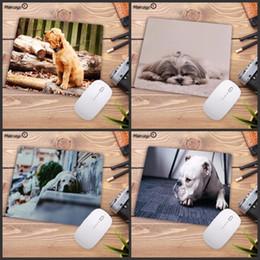 Mairuige ® animali mouse pad in gomma fashion personalizzato Carino Carlino Cane Mouse Pad