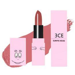 Batom impermeável 3ce on-line-3CE Eunhye Casa Lip Makeup Nova Chegada Matte batom matiz de longa duração lábios Batom Cosméticos Lip Stick Maquiagem À Prova D 'Água