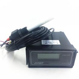 Medición de metros online-CM-230 Conductivity Monitor Medidor de conductividad, instrumento eléctrico, 0-2000us / cm Error: 2% Medición continua