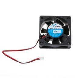Argentina ANENG 60mm * 60mm * 20mm DC 12 V 2 Pin Cooler Caja de CPU PC Brushless Ventilador de Enfriamiento 6020 cheap 12v dc axial fan Suministro