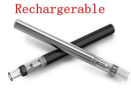 Atomiseurs à faible résistance en Ligne-510 huile vape stylo plus faible résistance 0.5 ml atomiseur élément chauffant réservoir en verre vape stylo rechargeable en céramique bobine verre cartouche e cig
