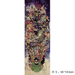 Poster-set online-Leben / Totoro NARUTO / Comic Set / Kraftpapier / Bar Poster / Wandaufkleber / Retro Poster / dekorative Malerei 55x18.5cm