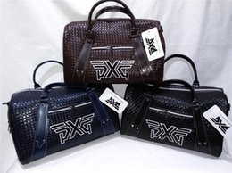 Wholesale ems golf clubs - EMS Free Shipping PXG Golf Clothes Bag PXG Golf Clubs Bag 3 Colors Golf Storage Bag