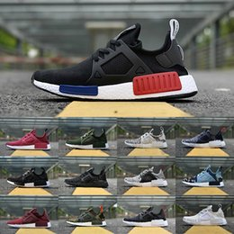 Wholesale cheap plastics - 2018 New Original NMD_XR1 PK Casual Shoes Cheap R1 NMD XR1 Runner japan Primeknit OG PK Human Race Black White Men Women Sneakers