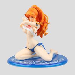 uma peça nami ação figura Desconto Anime japonês ONE PIECE PVC figura de ação Nami Ver.BB_02 Sexy Swimwear pode rejeitar modelo Collectible Toy sem caixa