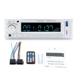 Wholesale Sd Car Radio Din - eClouds Car Radio Bluetooth MP3 Player Autoradio 1 Din 12V In-dash Bluetooth Stereo Car audio FM Aux Input Receiver SD USB handfree phone