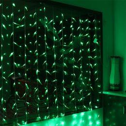 3M x 3M 300LEDS Artificielle Salix Feuille Vigne De Mariage Feuilles Rideau Lumière pour La Maison Jardin Luminaires LED Décoration De Noël Lumières 110V 220V ? partir de fabricateur