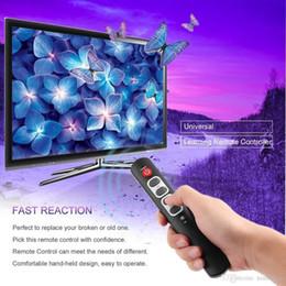 linux медиа-окно Скидка Черные универсальные 6 ключей Изучение беспроводного пульта дистанционного управления Большие кнопки для ТВ STB VCR DVD HIFI