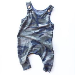 2bce369bd baby bodysuit muster Rabatt 2018 Baby Jungen Mädchen Camouflage Overall  Jungen Neugeborenen Camouflage Strampler Infant Muster