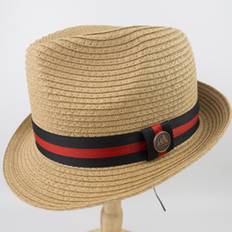 e91b5a1db48 Rollup Packable Man and woman straw Braid short brim fedora Hat Ladies  Street Fashion High Quality Trilby Jazz Hat casquette EPU-MH1835