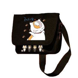 bdb965709d56 MeanCat Black Khaki Natsume Yuujinchou Collection Natsume s Book of Friends Shoulder  Bag Messenger Crossbody Bags