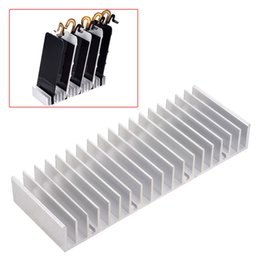 Wholesale Pcb Holders - Aluminum Metal LCD PCB Holder Tray Slots for phone LCD Panel Refurbish Support Station Phone Repair Tools
