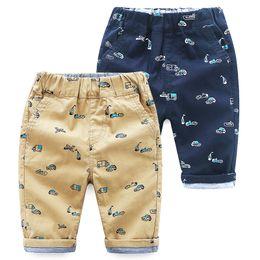 Wholesale cars england - Vieeolove Baby Boys Car Shorts Pants 2018 New Spring Summer Fashion Pants VL-992