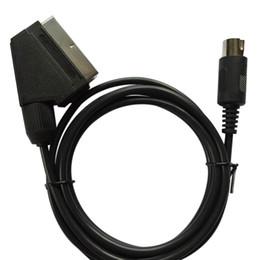 sega mega drive Скидка XUNBEIFANG 100 шт. PAL версия C-контактный разъем Scart видео кабель для SEGA Mega Drive 1 для Genesis 1 кабель ЕС