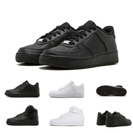 promo code 47db1 01a0f Nike Air Force 1 one 36-45 Günstige Marke One 1 Dunk Flyline Laufschuhe  Damen Herren Schwarz Weiß High Low Cut Skateboard eine Klassische  Sportschuhe