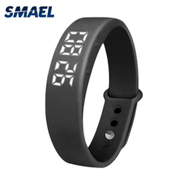 Wholesale Green Electronic Products - 2017 SMAEL New Product Clock Smart LED Multifunctional Watch Intelligence Clock Intelligent Fashion Electronics Clock SL-W5