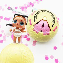 Wholesale Kids Dress Up Toys - 2018 Random Dress Change LOL LQL Surprise Doll Magic Egg Ball Action Figure Toy Kids Unpacking Dolls Girls Funny Dress Up Gift Free shipping