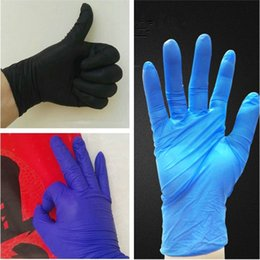 Wholesale wholesale electrical tools - New disposable Nitrile gloves 5 kinds of specifications optional Anti-skid gloves anti-oil glove Housework tool T3I0212