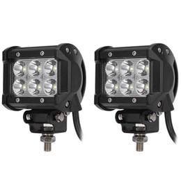 Wholesale Cooler Atv - Led Top Arbeitslicht 6500 Karat Außenlampe Flood Spot strahl Arbeitsscheinwerfer Fahren Lampe für 12 v 24 v Vehicle SUV ATV Auto-styling