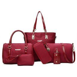 8f9ff4c8e0 2019 sacs en patchwork en gros Rose sugao designer sacs pour femmes 6pcs /  set gros