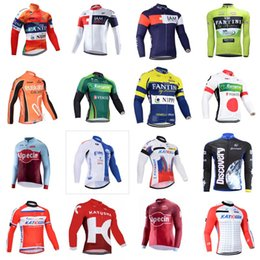 Wholesale women s clothing models - UHC DISCOVERY EUROPCRA EUSKALTEL team Cycling long Sleeves jersey High quality Ciclismo mountain bike Clothes sportwear 7 different models