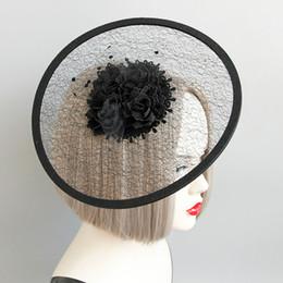 ce8afa3a9474d Femmes Black Mesh Fedora Hat 2018 Vintage Flat Brimless Femmes Filles Parti  Accessoires De Mode Mignon Élégant Fedora Chapeau chapeaux noirs pour femmes  pas ...