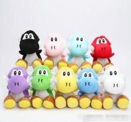 "Wholesale Yoshi Plush Dolls - super mario bros light blue yoshi 7"" soft plush doll retail wholesale"