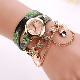 elephant wrist watches Coupons - Dropshipping Women Leather Bracelet Watches Fashion Casual Elephant Wrist Watches Relojes Mujer Clock
