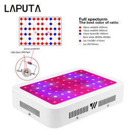 Wholesale plant grow led panel - 10pcs 600W LED Grow Light full spectrum Lamp Panel designed with 10W double chips LEDs for Plant Flowering Grow Bloom indoor