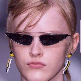 378f8e1611d Small Frame Sunglasses Mens Water Droplet Shape Fashion Adumbral Resin Lenses  Eyewear Womens UV400 Grey Pink Purple Sale Free Shipping