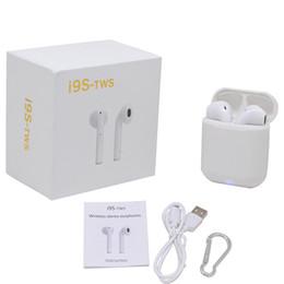 Deutschland I9s TWS Sport magnetisch Mini Wireless Bluetooth Kopfhörer Twins Doppel-Ohrhörer Mini Calling Music Headset für Smartphones Versorgung