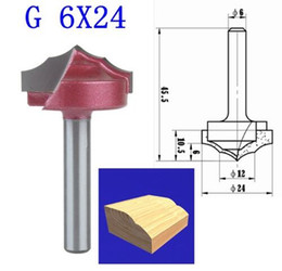 Wholesale Milling Wood Machine - 1PCS G 6*24mm(Shank*Blade Width) 3D Lace Woodworking CNC Engraving Machine Milling Knife,Wood Cutter Router Bit Knives
