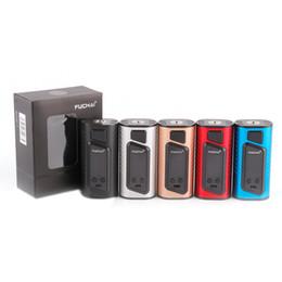 Оригинал Sigelei Fuchai дуэт 3 мод 175ВТ Fuchai дуэт-3 ТК коробка мод OLED дисплей поддержка 18650 батареи Vape против для RX2 с/3 от