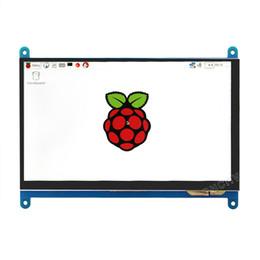 resolución de pantalla Rebajas Raspberries 3 generación Pantalla táctil de 7 pulgadas Pantalla capacitiva Pantalla táctil 1024 * 600 Pantalla HD