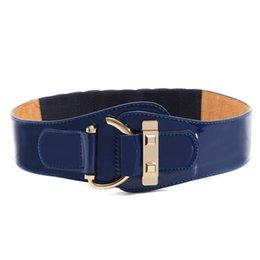 Cinturones de tela negra online-2015 nuevos cinturones de cuero del diseño de lujo de la manera para las mujeres de color negro cinturón de tela de las mujeres para la capa del vestido abajo Cummerbund