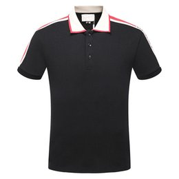Wholesale European Classic Style - New arrivel summer men's mon Luxury brand polo t-shirt fashion t shirt short-sleeved men classic polos france style