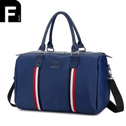 Wholesale Euro Style Bag - High Quality Women Men Travel Bags Euro and US Style Luggage Duffle Bag Portable Weekend Handbag Casual Oxford Travelling Bag