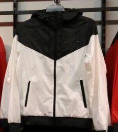 Wholesale Mens Short Sleeve Hoodies - New fashion long sleeve mens jacket coat winter sports running Outdoor windrunner zipper windbreaker mens hoodie plus size 3XL