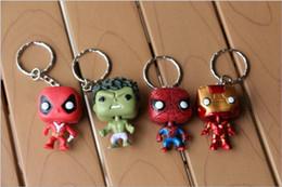 bijoux de guerre Promotion Mode Porte-clés Accessoires Bijoux Avengers 3 Infinity War Marvel poupée main modèle Porte-clés pendentif V 001