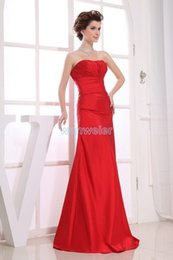 designer winter cocktail dresses NZ - free shipping vestidos formales 2018 high quality designer maid maxi dresses custom size color long red sexy Bridesmaid Dresses