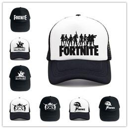 f4251012cd8 Fortnite 3D Print Baseball Hat Fornight Hip Hop Streetwear Snapback Summer  Trucker Caps for Men Women Outdoor Sun Mesh Hats Game Fans Gift