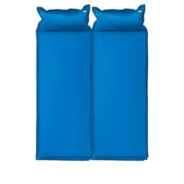 Unique Matelas Gonflable Automatique Sports de Plein Air Camping Tapis Stitch Double Personnes Air Mat Lit Anti-humidité Matelas Matelas ? partir de fabricateur