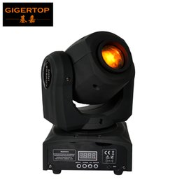 Wholesale 12 Color Wheel - Free Shipping TIPTOP 10W Mini Led Moving Head Light 1*10W White Color Cree LED Color Gobo Wheel Built In DMX 4 12 CH 90V-240V