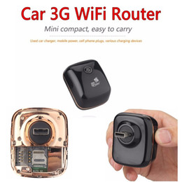 Wholesale 3g mobile wifi router - Mini Portable 3G 7.2Mbps Car WiFi Hotspot Mobile Broadband Hotspot Router Cheap Wifi Router