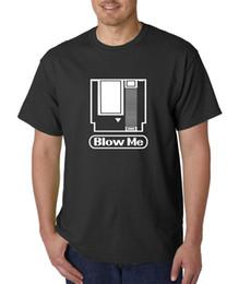 2019 nuova macchina da gioco T-shirt Blow Me Video Game Car - Gamer Funny College Offensive / Maleducato Humor 2017 Nuovo arrivo T Shirt da uomo Top Tee sconti nuova macchina da gioco