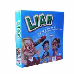 Lügenspiel online-Lügner Brettspiel New Stretch the Truth und Your Nuse können Party / Familie Puzzle-Spiel für Kinder wachsen