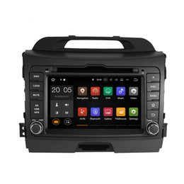 Wholesale Gps For Kia Sportage - Android 6.0 7.1 4+32GB Car DVD Player GPS Navigation for KIA SPORTAGE R 2010 2011 2012 with Radio BT USB AUX Camera Map Canbus