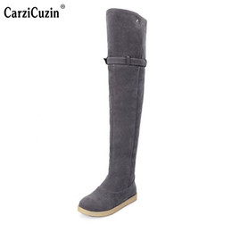 4b2e80375df7 Size 33-42 Russia Keep Warm Outdoor Snow Boots New Women Boots Women s Fur Winter  Over Knee Long Riding Shoes