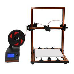 Wholesale 3d printer filament pla - Anet E12 E10 imprimante 3d printer Update Threaded rod High precision Reprap 3D Printer Kit DIY Large Print Size 10m Filament
